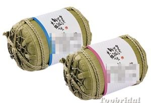 楽天市場 新米夫婦 俵型体重米 2個セット 体重米ギフト ≪代引NG商品≫ トップブライダル 楽天市場店