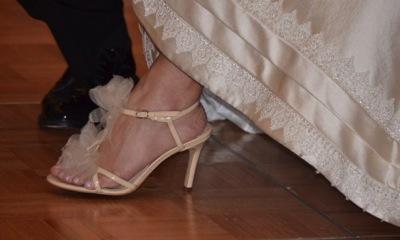 結婚式当日の新婦の歩き方、姿勢、作法など